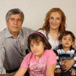 Pastor Behnam Irani & his family
